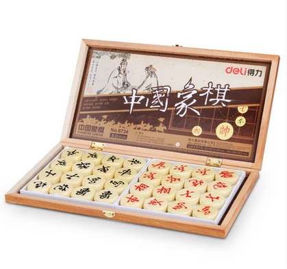 Many provinces shipping deli/deli 6734 wood linden wood chess quality with box capable sporting goods