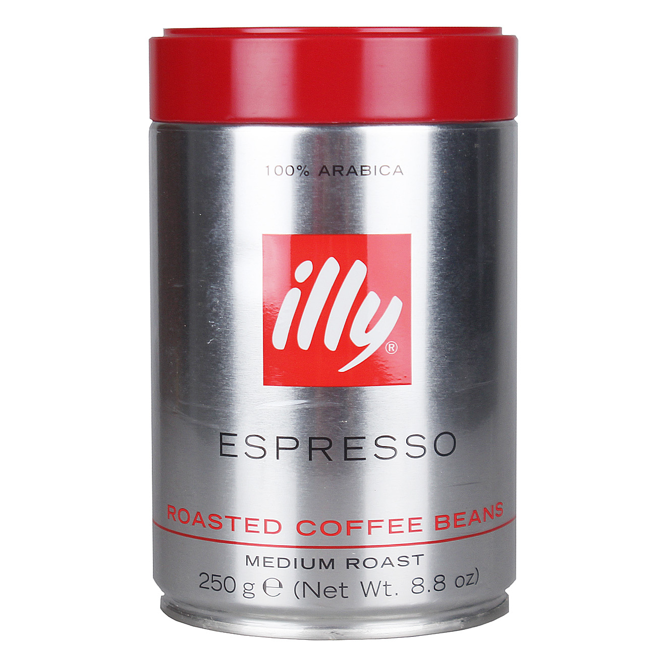 Many provinces shipping imported italian illy/illy medium roast espresso coffee beans 250g