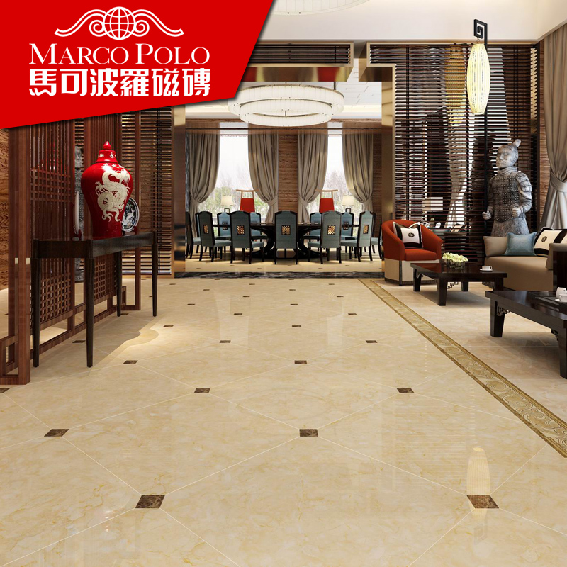 Marco polo tile living room bedroom floor tiles ceramic stone athena series FH8962 specifications 800*800