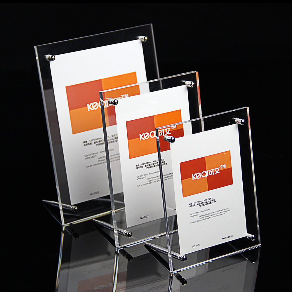 May ai-acrylic display stand plexiglass photo frame certificate frame swing sets 203*152mm 8 inch