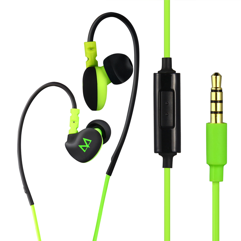 Maya s6 ear sports waterproof ear earbud headphones bass universal mobile computer music headphones headset