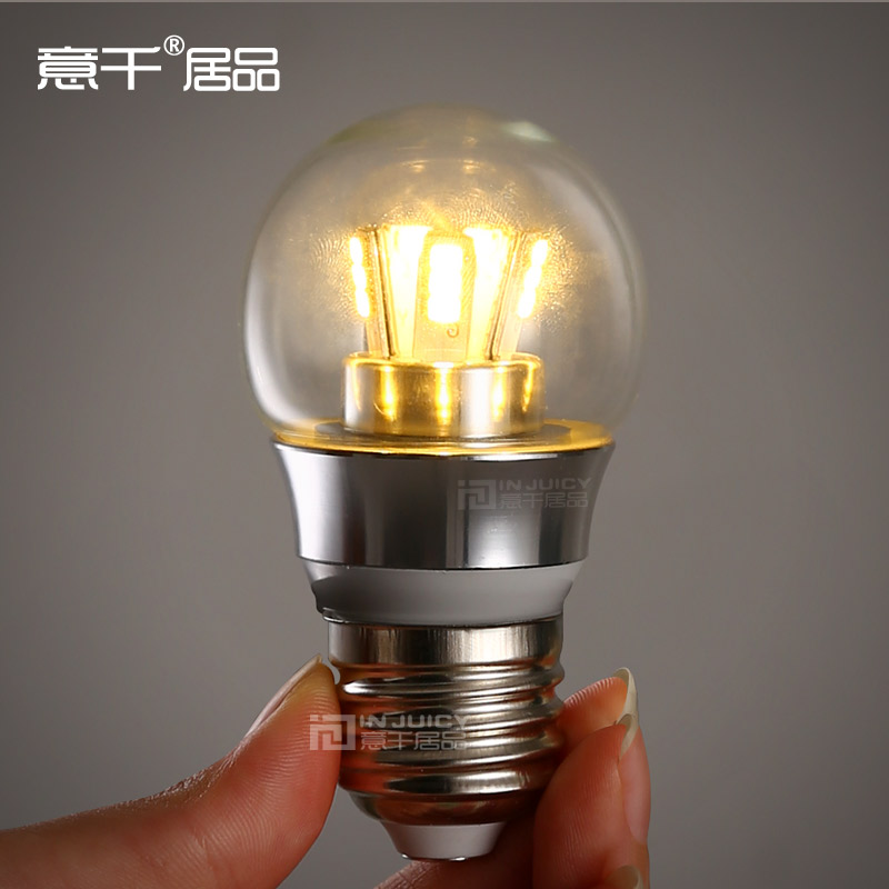 Meaning a thousand habitat goods e27 big mouth spiral energy saving light bulbs 3 w led indoor lighting led bulb yellow