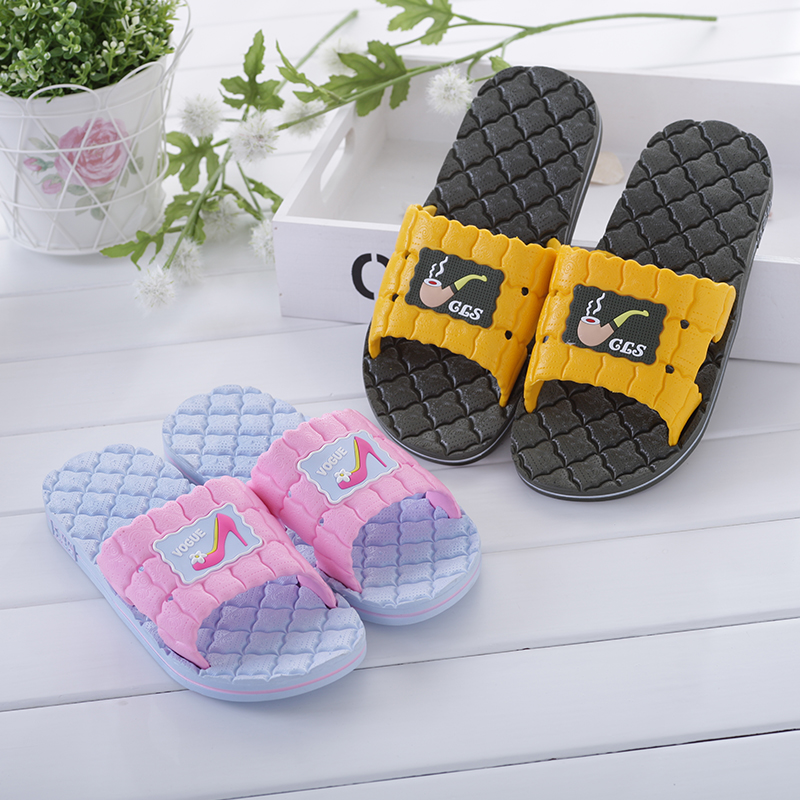 Men and women couple home skid bathroom slippers summer sandals and slippers free shipping men and women home slippers indoor thick crust floor