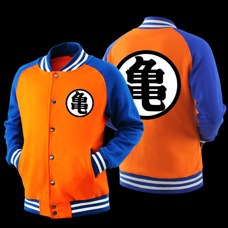 Meng beans dragon ball monkey king wu word turtle word boundary wang word baseball clothes casual clothes and models cosplay Coat