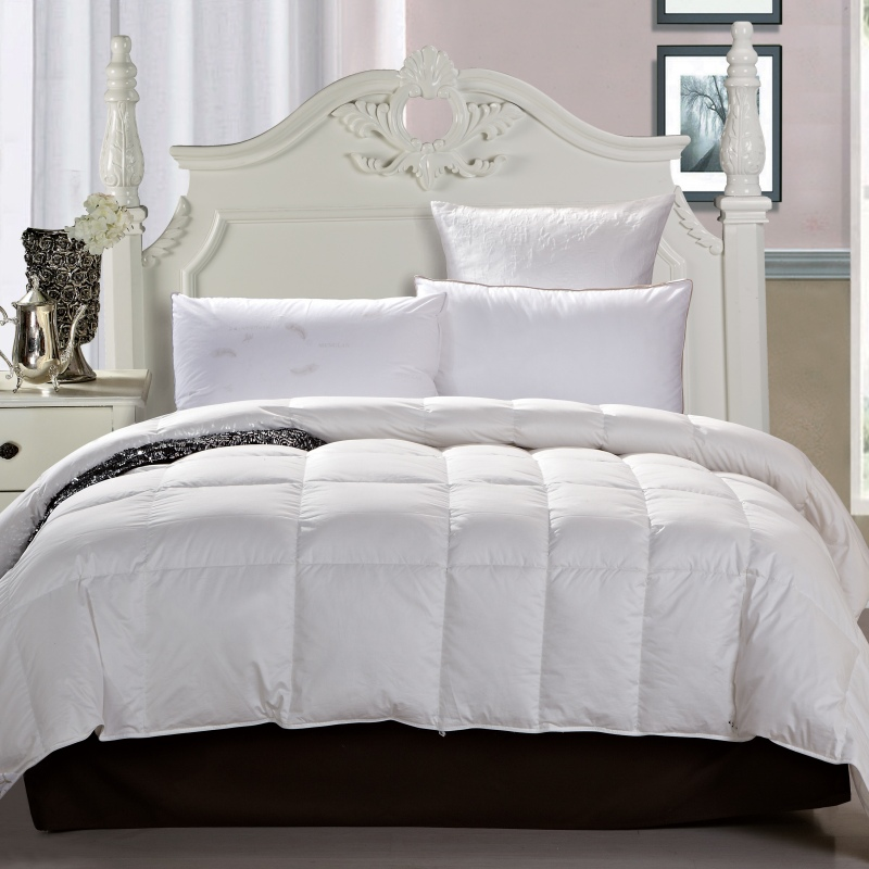 Menglan textile bedding genuine new warm velvet quilt is the core thick duvet 90% white duck