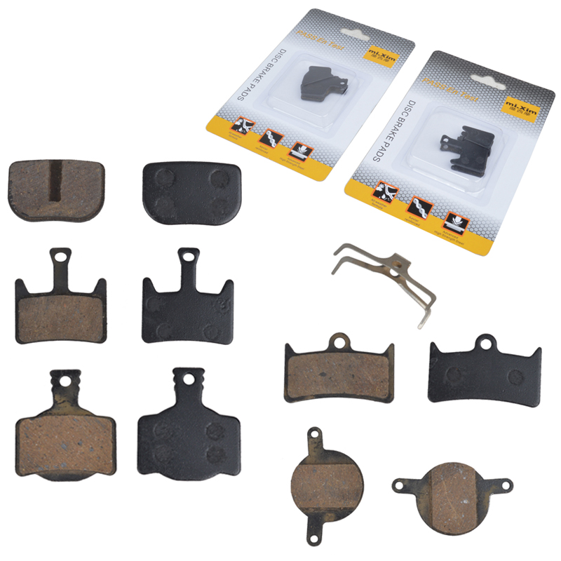Mi. xim extravagant seymour mountain bike folding bike disc brakes resin to the film clip card clamp brake pads brake friction plates