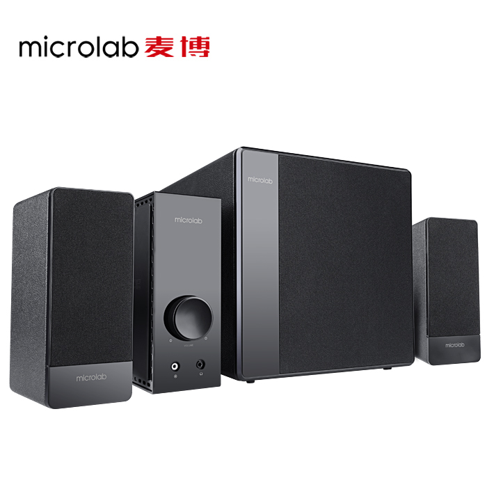 Microlab/microlab fc3602 woodiness 2.1 + 1 subwoofer computer audio multimedia laptop speakers