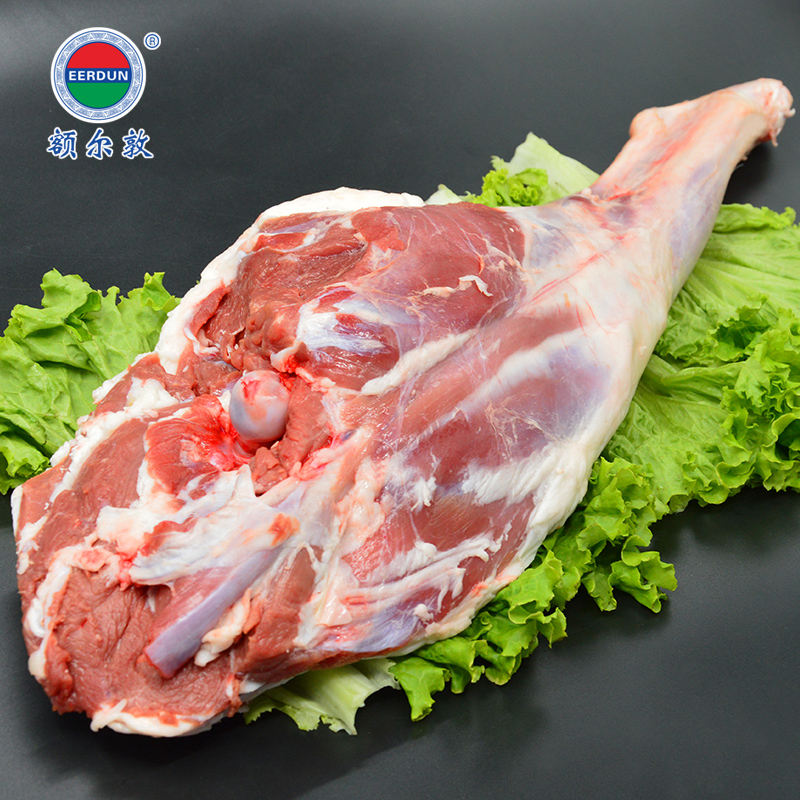 Middletown amount of 1600g grasslands of inner mongolia halal raw fresh lamb leg of lamb roast leg of lamb barbecue grill ingredients lamb meat