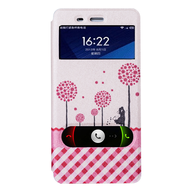 Millet 4 clamshell mobile phone sets 4 mobile phone shell mobile phone shell holster xiaomi mi 4c 4 drop resistance protective shell painted tide