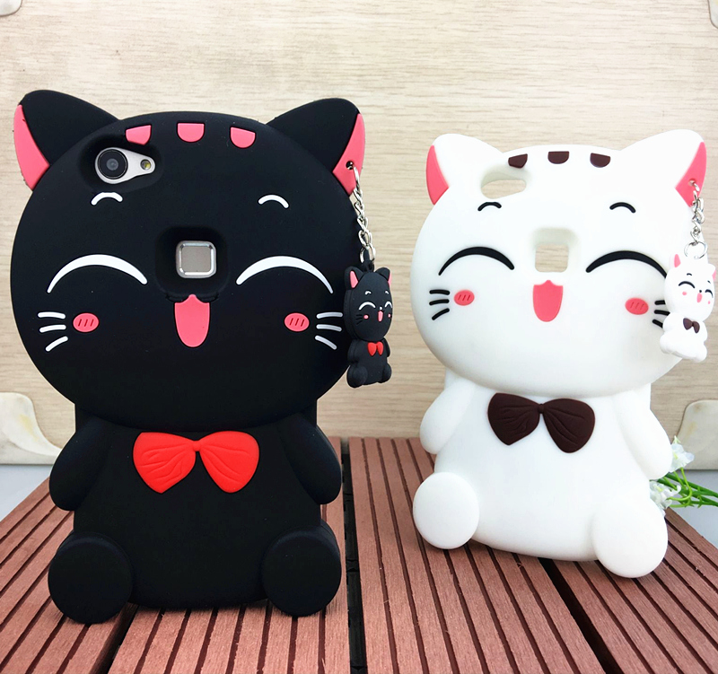 Millet red rice note2/note/red rice 1 s/red rice 2 mobile phone shell silicone protective sleeve popular brands of soft Lucky cat