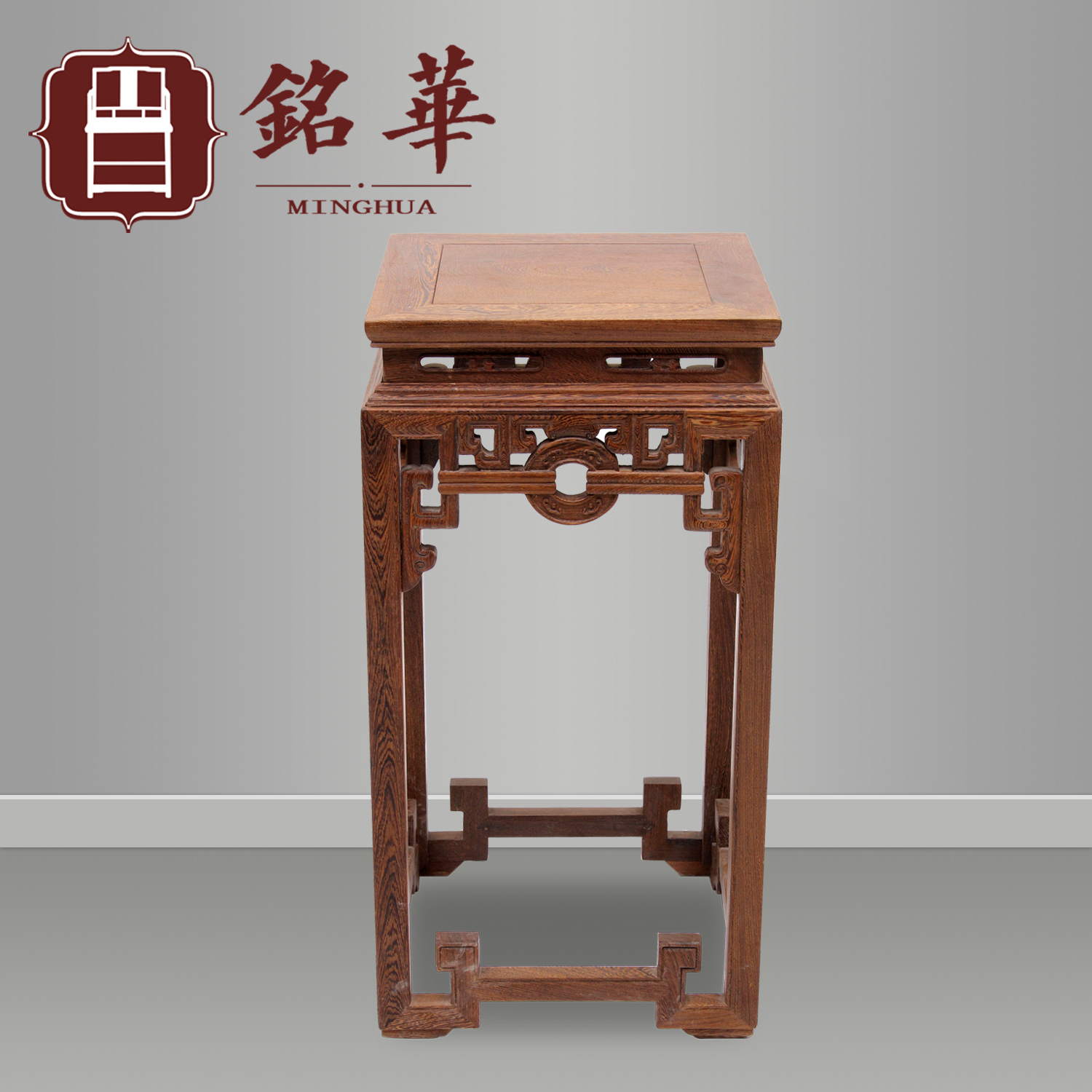 Ming and qing mahogany furniture wenge wood living room potted myanmar pear flower chinese wood to spend a few bonsai frame