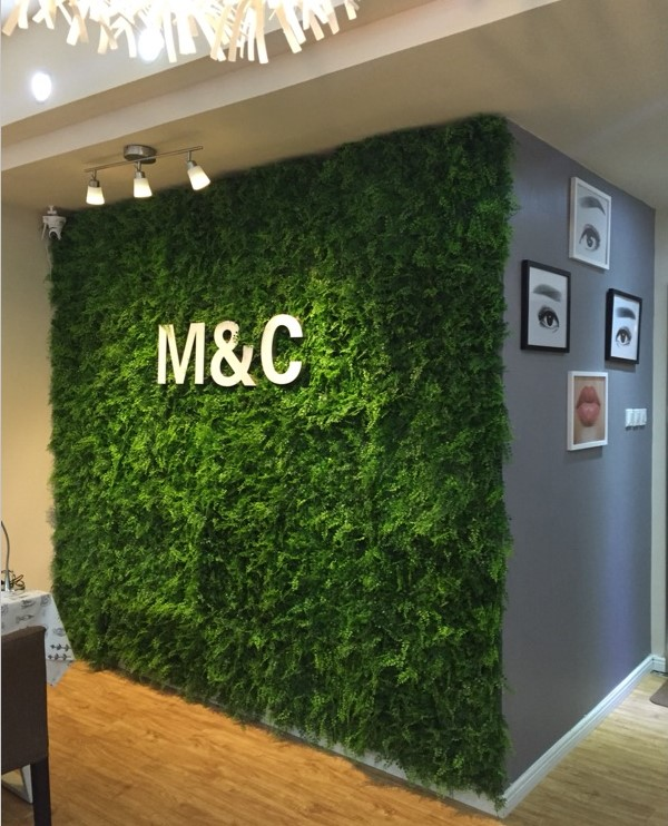 Ming build plants simulation simulation of plastic lawn turf lawn decoration door head shop signs lawn plant