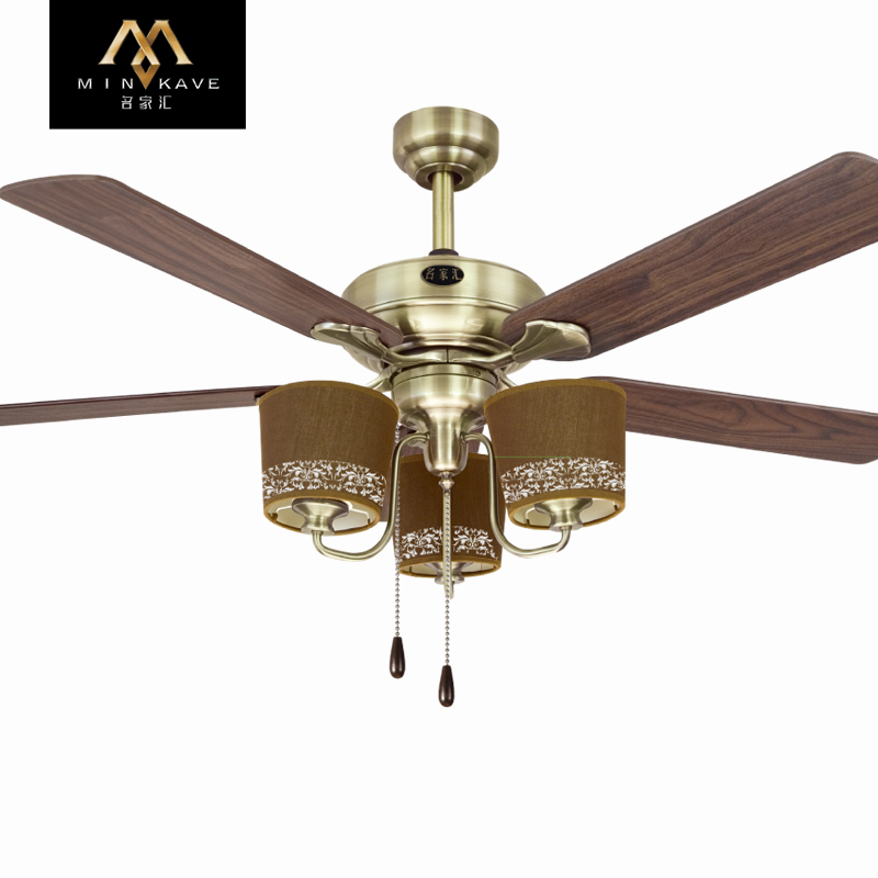Mingjiahui ceiling fan 48 inch kiba fan lights modern minimalist lighting remote control wall control ceiling fan light fan light chandelier study