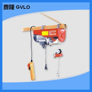Mini electric hoist | v home | wire rope hoist winch hoist | single machine 100-1000
