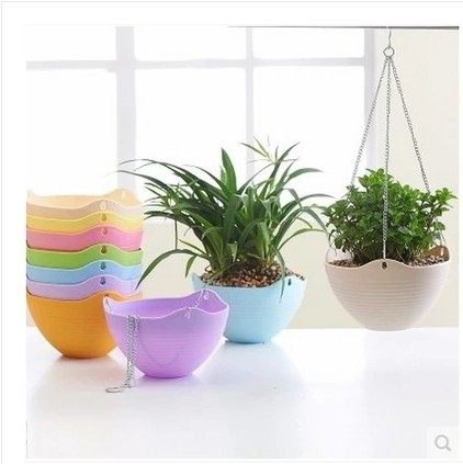 Mini gardening resin pots pots desk threaded lotus flower pots diaopen spider plant pots plastic pots vegetables basin