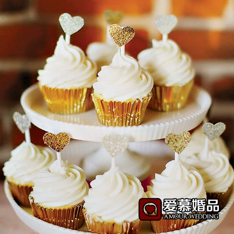 Get Quotations Mini Small Flags Food Fruit Love Cupcakes Inserted Card Birthday Wedding Theme Party Decoration