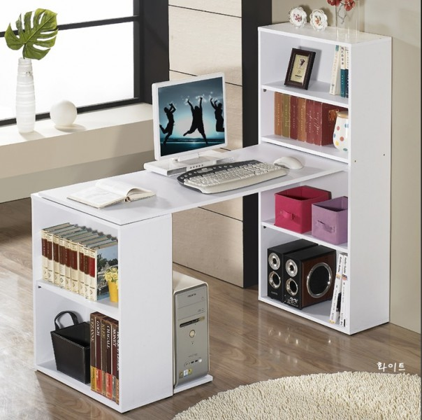 Minimalist modern home desktop notebook computer desk computer desk combination bookcase desk computer desk with bookcase desk student desk desk desk study