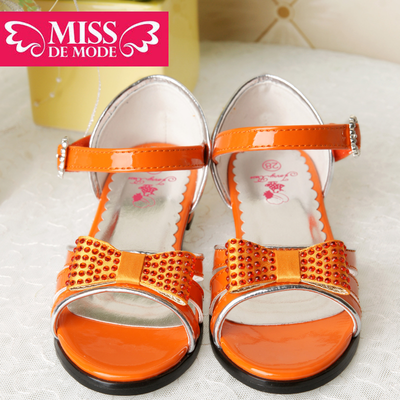 Miss green box kids modern girls sandals casual shoes wild princess shoes 2016 summer new models