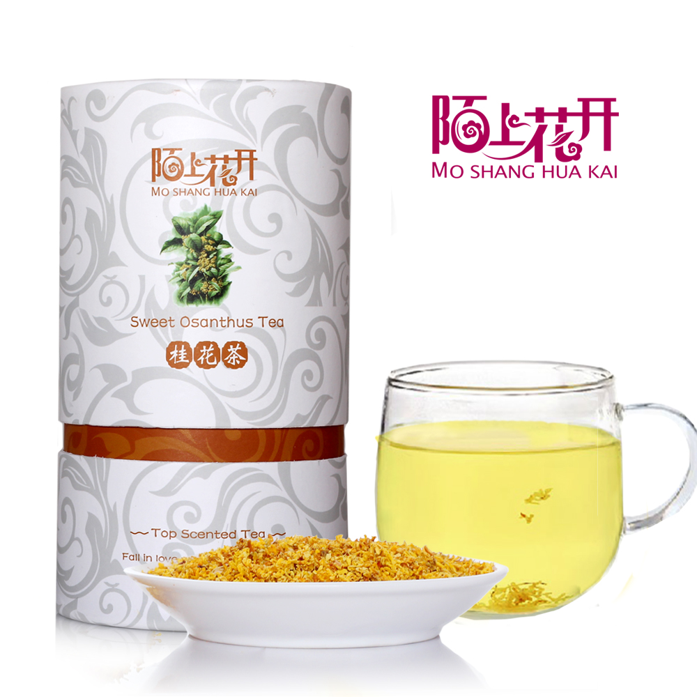 Mo flowers dried osmanthus osmanthus tea dry dry osmanthus osmanthus osmanthus tea guilin new herbal tea