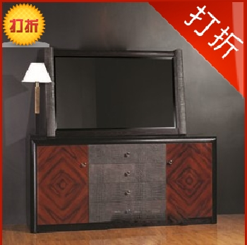 Modern minimalist clubhouse nordic wood entrance cabinet entrance cabinet entrance cabinet hk086