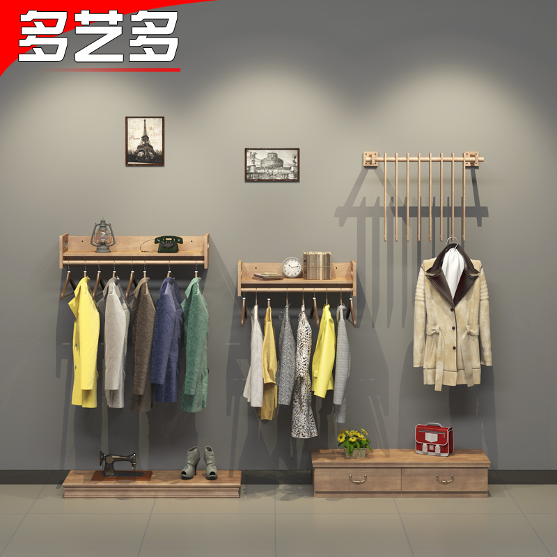 8f0ecaa9d4b90 Get Quotations · More art and more clothing store display rack on the wall  clothing store women's clothing store