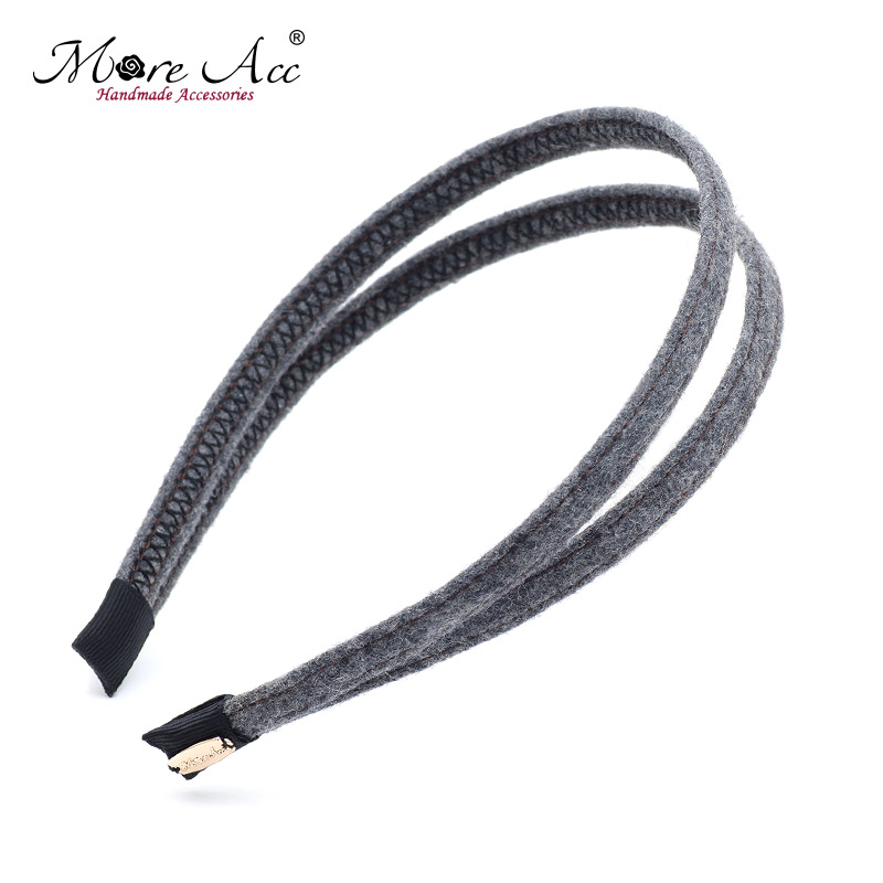 More see acc south korean hair accessories hair bands temperament fashion simple headband hairpin hairpin female headdress korean version of the parallel bars