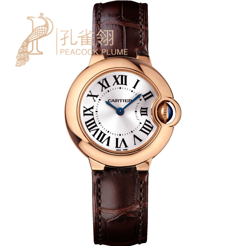 Ms. cotton flax 16 cartier watches cartier blue balloon series diamond leather strap watch w6900256