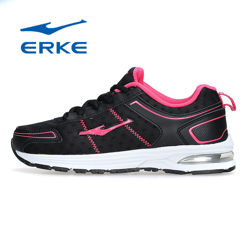 Ms. cotton flax erke sneakers shoes 2016 air cushion increased soft bottom shoes erke running shoes