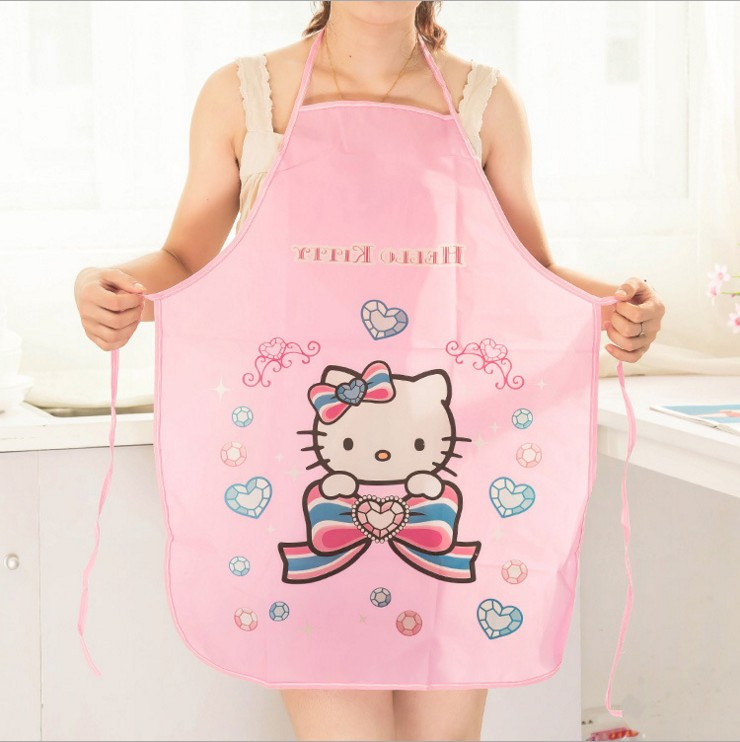 Ms. cute cartoon princess waterproof oil kitchen aprons korean fashion sleeveless apron cooking in thousands of united states