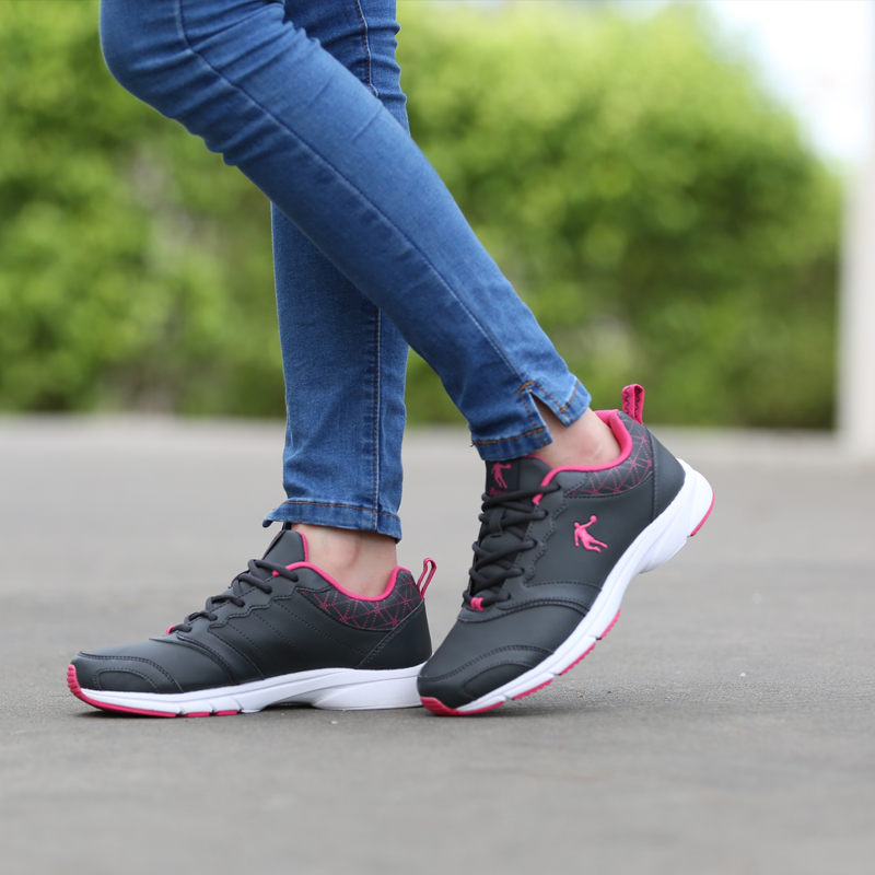 Ms. jordan running shoes authentic 2016 spring models retro black leather sports shoes hiking shoes waterproof comfort
