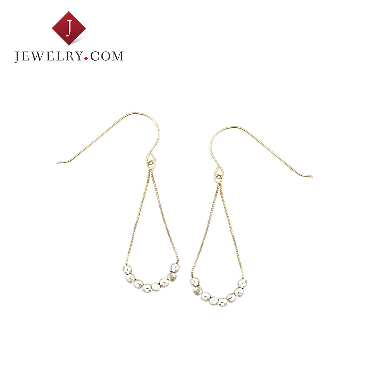 Ms. k gold color beads shaped droplight Jewelry.com charm earrings fashion jewelry earrings
