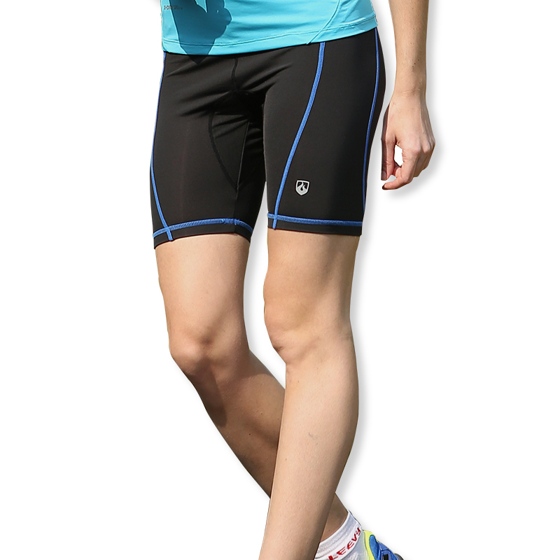 Ms. shorts force leevy wicking sports fitness pants stretch pants five pants thin section pants reflective night vision