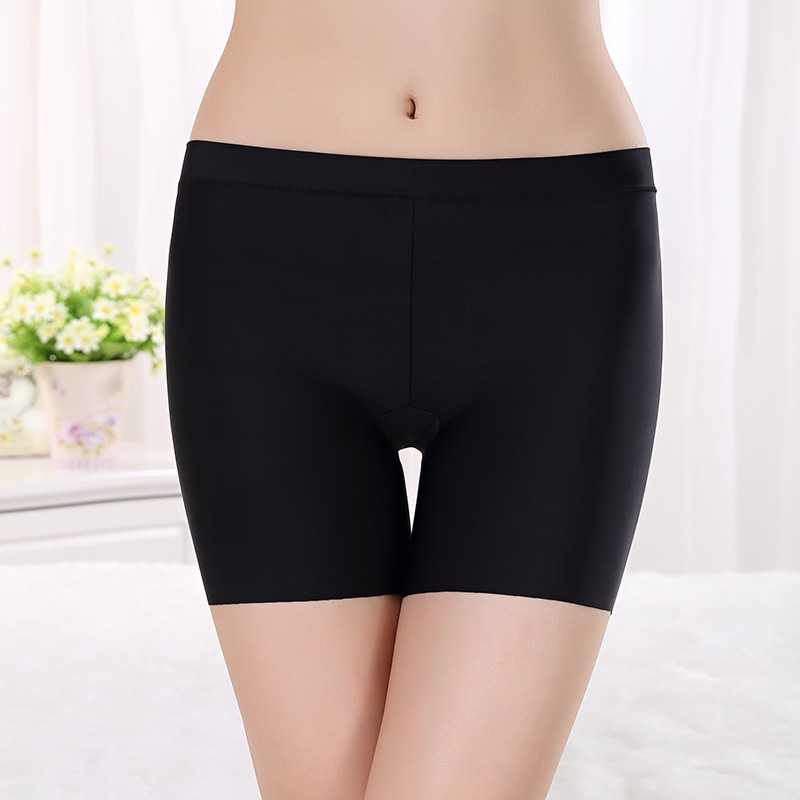 Ms. summer thin section large size sexy underwear anti emptied security thirds lace leggings pants shorts bottoming