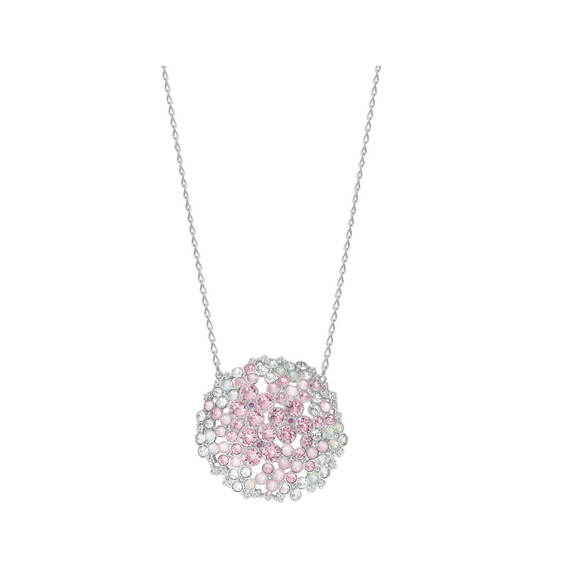 Ms. swarovski swarovski pendant necklace chain clavicle simple bouquet crystal texture 5111318