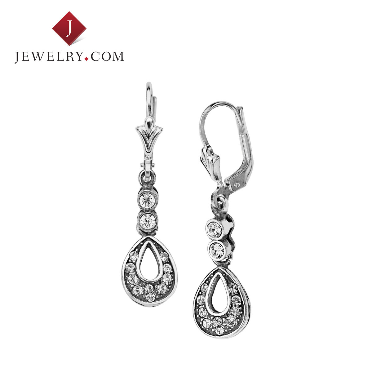 Ms. van kempen inlaid swarovski crystal sterling silver earrings elegant fashion wild ornaments decorations