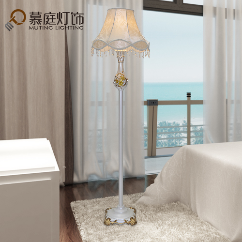 Mu ting european living room floor lamp floor standing lamp lighting simple and stylish atmosphere living room bedroom lights
