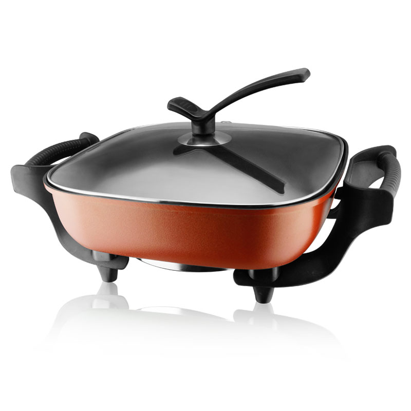 Multifunction electric pan cooker korean multifunction electric pan cooker pot cooker electric skillet frying pan household electric nonstick skillet