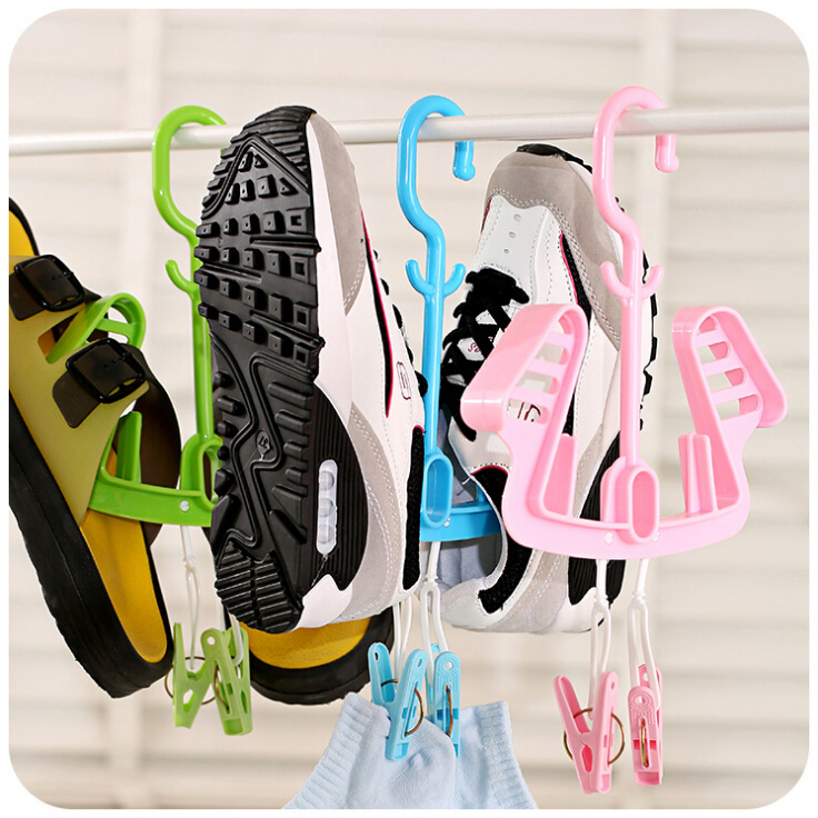 hanger increased thickening of the sun hanging shoe rack shoe rack hanging shoe rack drying