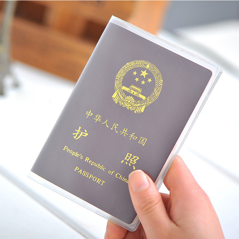 Multifunction travel passport document sets passport holder passport card pack bag waterproof security sheathed essential travel abroad
