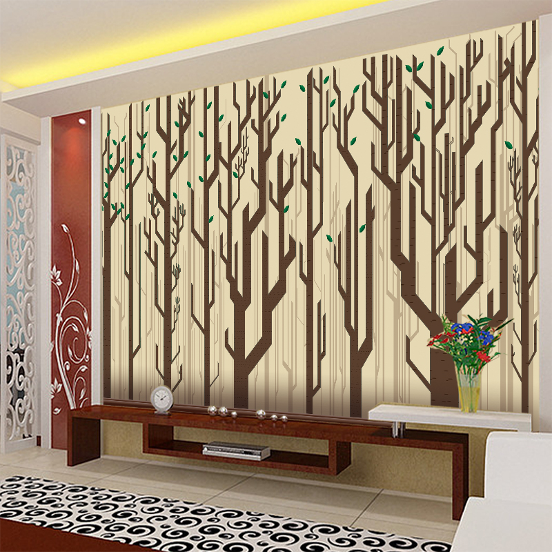 Mural wallpaper the living room tv background wall covering wallpaper bedroom wallpaper backdrop painting decorative wall covering material