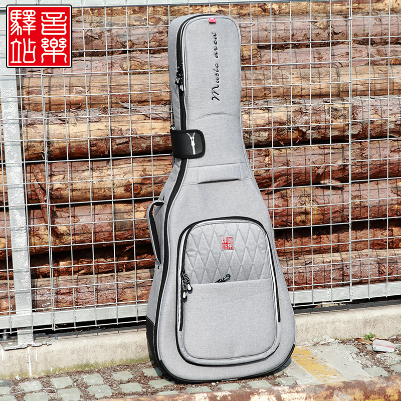 Music music matière d'extradition tang inn 30 series of quality electric/acoustic guitar/bass division thick piano ballad bag