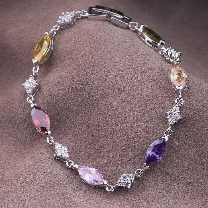 Namdaemun brand ms. austrian crystal bracelet korean version of japan and south korea jewelry gold plated fashion jewelry