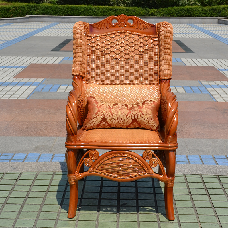 Natural rattan chair rattan chair rattan chairs boss chair office chair chair really rattan dining chair study chair high back chairs rattan chairs combination