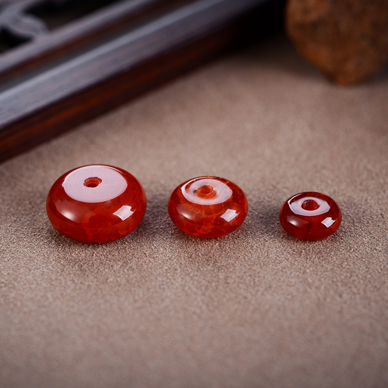Natural red dragon agate plate spacer beads diamond moon and stars sandalwood water hyacinth bodhi spacer spacer beads diy accessories