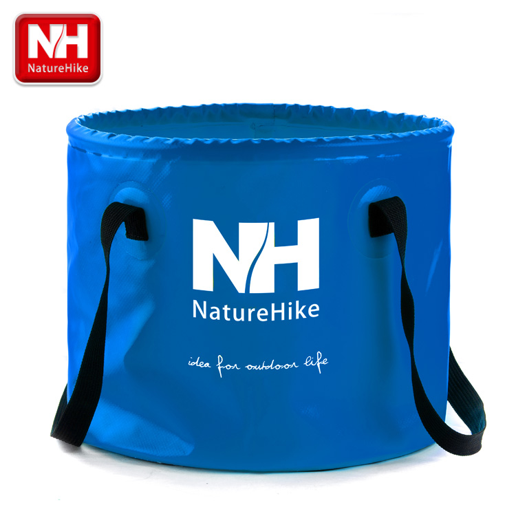 Naturehike authentic outdoor folding bucket fishing bucket bucket round lightweight portable oversized volume traveling by car camping