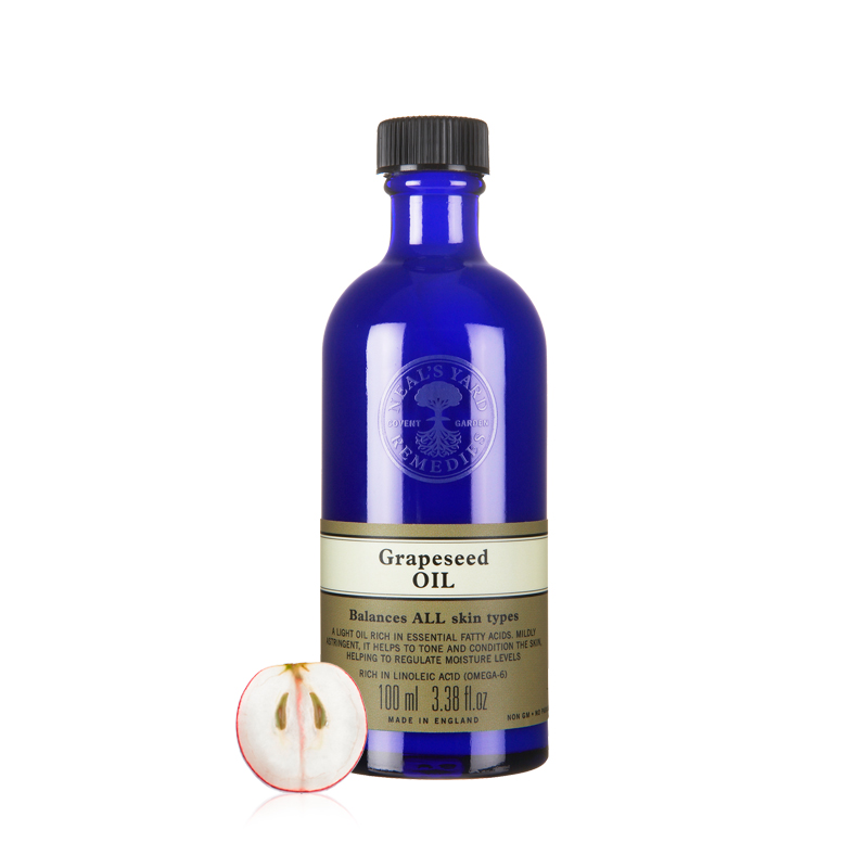 Neal & lsquo; s yard remedies nyr british carrier oils of grape seed oil 100 ml