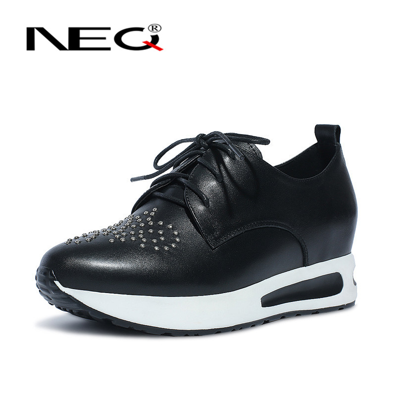 Neq new round lace casual shoes 2016 deep mouth fashion shoes to help low shoes stealth increased within the high shoes 8260