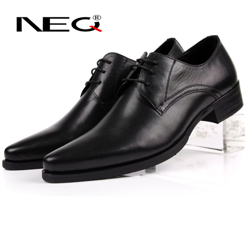 NEQ2016 summer new men's casual shoes british style fashion first layer of leather men's shoes to help low tide 4048