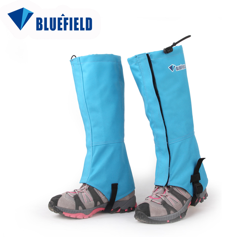 New blue field outdoor upstream mountaineering ski gloves for snow cover snow thepoles climbing snow cover snow leopard