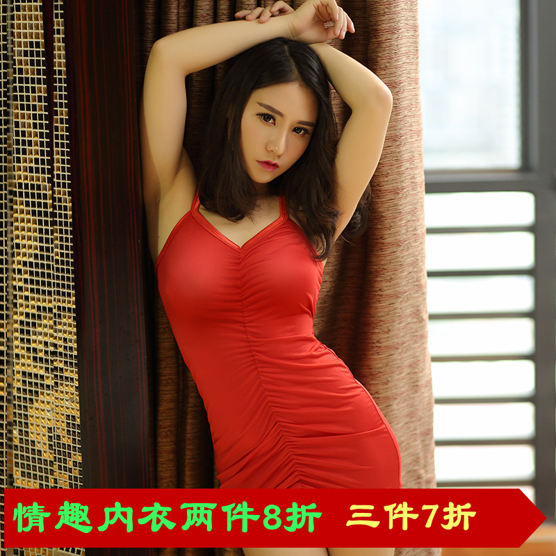 New european and american fashion slim package hip dress sexy nightclub ladies sexy low cut v-neck autumn underwear sets